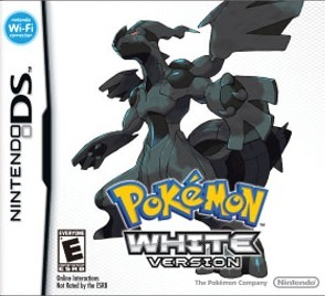 Pokemon White Version (U.S version, region free) for Nintendo DS