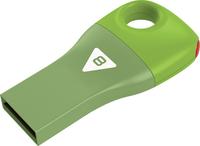 8GB Emtec Car Key USB 2.0 Flashdrive (Green)