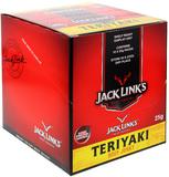 Jack Links Teriyaki Jerky 25g x 10 pack