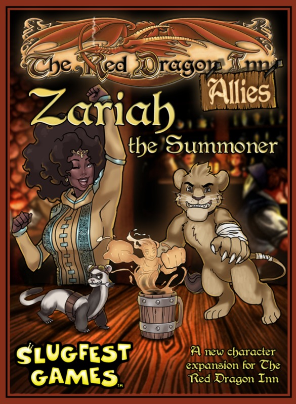 Red Dragon Inn: Zariah the Summoner - Expansion