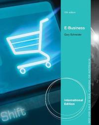 E-Business, International Edition by Gary Schneider