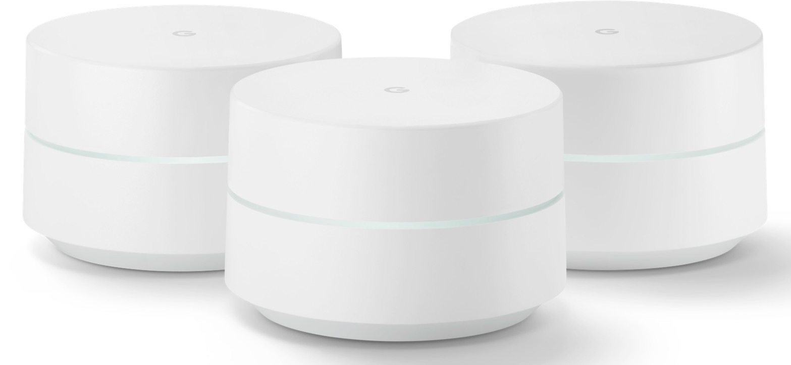 Google Wi-Fi Mesh Wi-Fi System - 3 Pack image