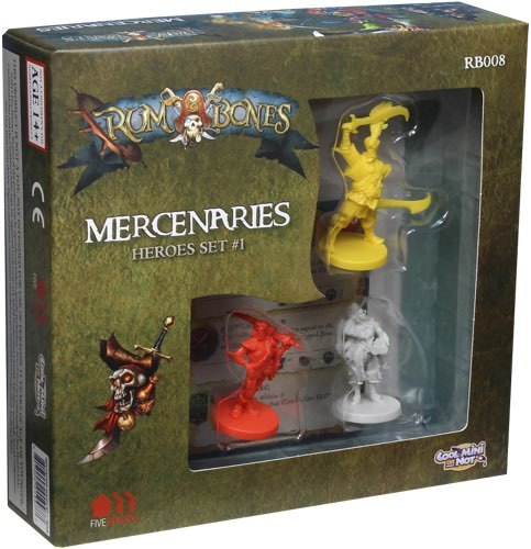 Rum and Bones: Mercenaries Heroes Set #1