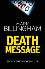 Death Message by Mark Billingham image