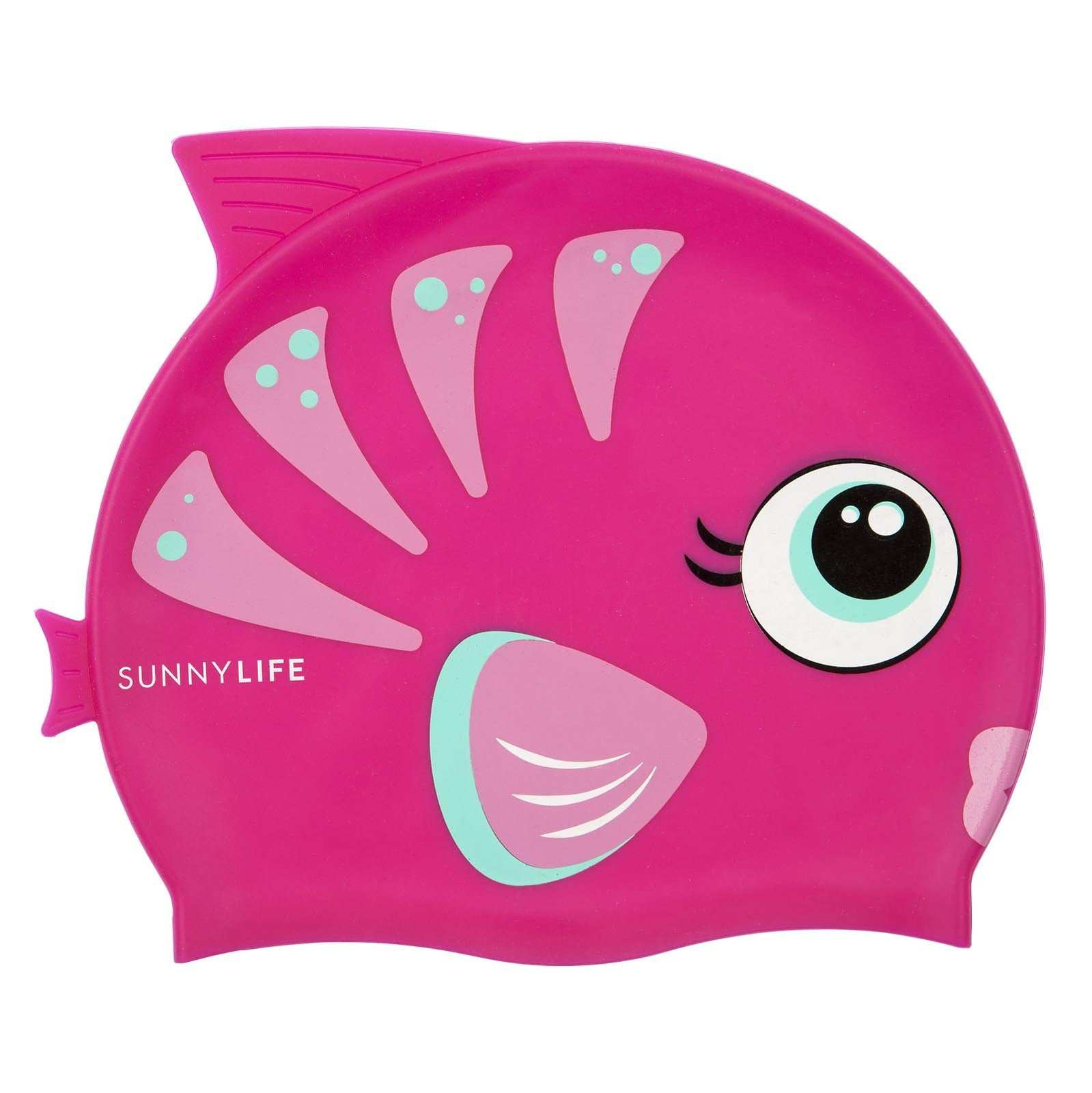 Sunnylife Swimming Cap - Fishy Pink image