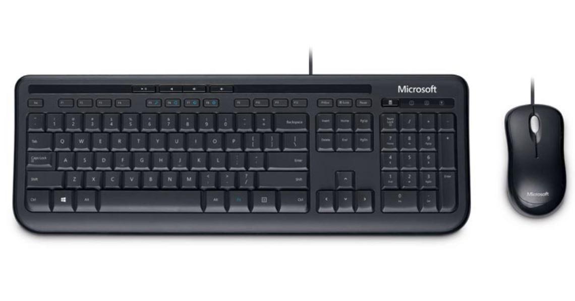 Microsoft Wired Desktop 600 - Keyboard & Mouse image