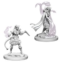 D&D Nolzur's Marvelous: Unpainted Miniatures - Tiefling Female Sorcerer