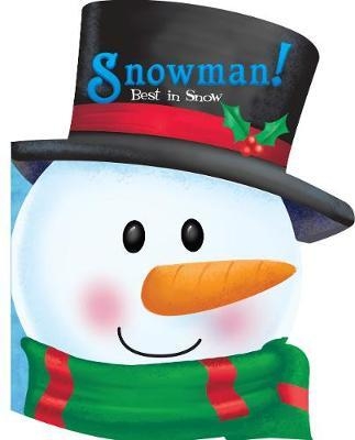 Christmas Head Book Snowman! Best in Snow