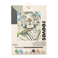 Reeves: Paint by Numbers - White Tiger (Medium)