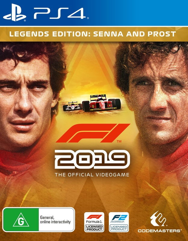 F1 2019 Legends Edition for PS4