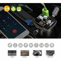 Ape Basics: Bluetooth Car FM Transmitter with LCD Screen