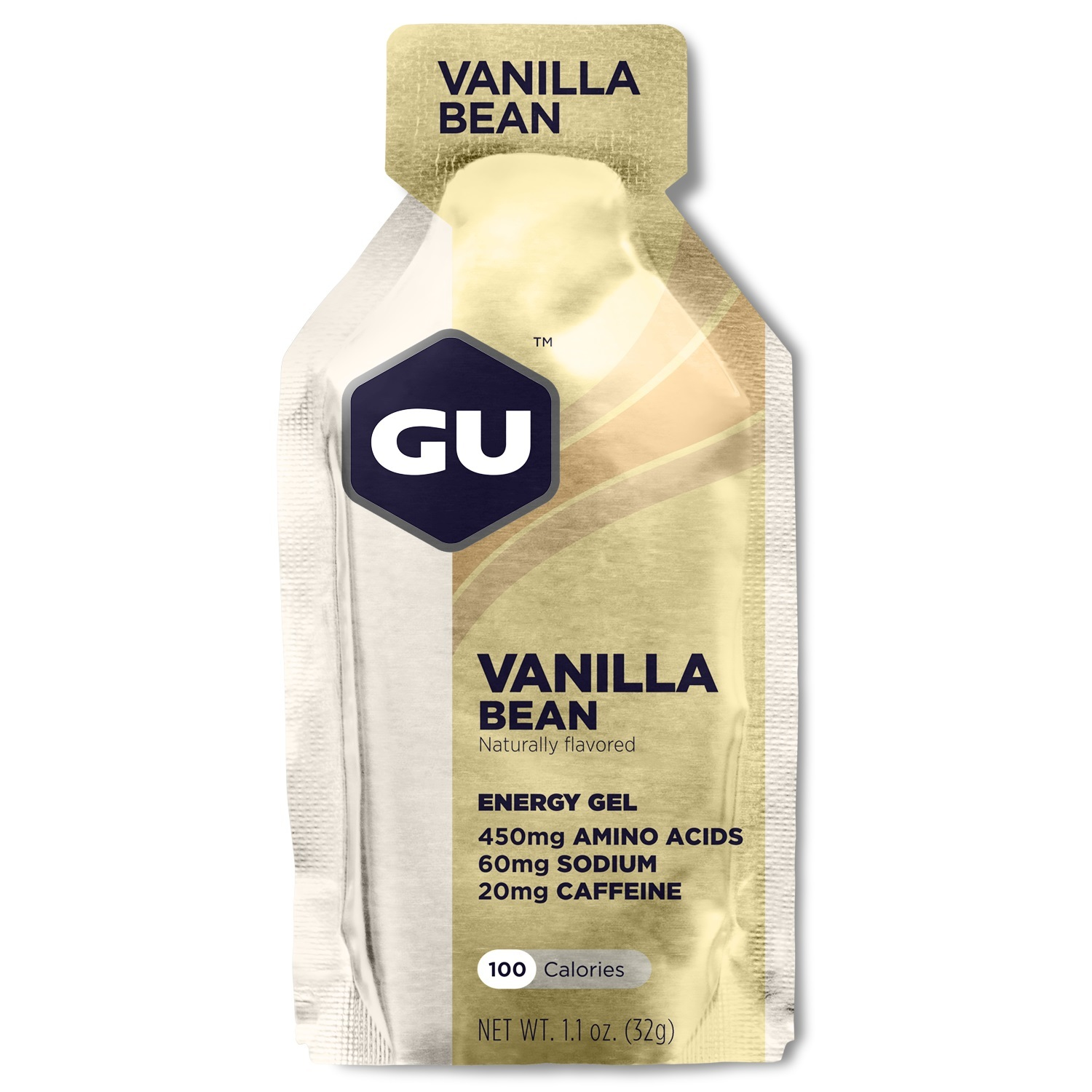 GU Energy Gel - Vanilla Bean (32g) Single Serve image