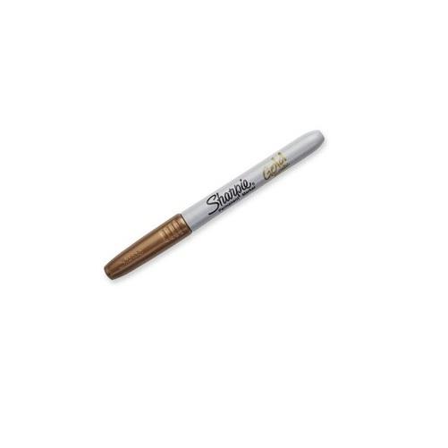 Sharpie Metallic Fine Point Marker Gold