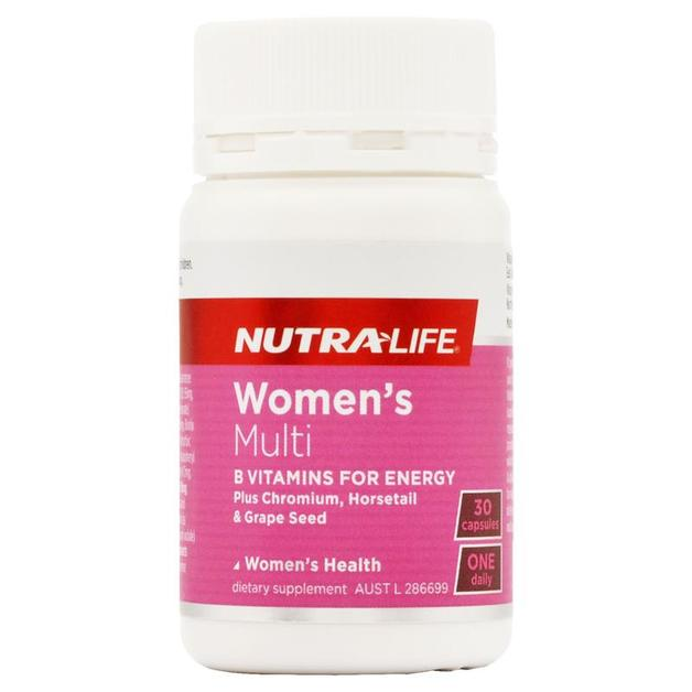 Nutra Life: Womens Multi One-A-Day Caps (30s)