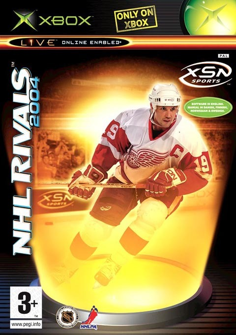 NHL Rivals 2004 for Xbox