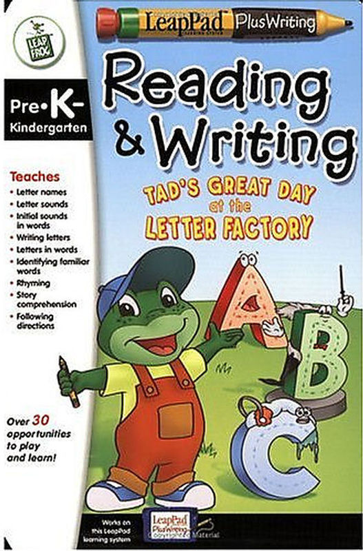 LeapPad Read and Write Book: Tads Great Day
