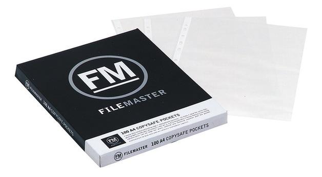 FM Copysafe Pockets - A4 (Pack 100)