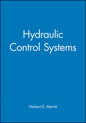 Hydraulic Control Systems by Herbert E. Merritt image