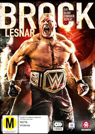 WWE: Brock Lesnar - Eat. Sleep. Conquer. Repeat. on DVD
