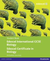 Edexcel IGCSE Biology Student Book by P Bradfield image