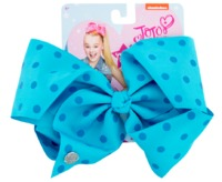 JoJo Siwa Small Polka Dot Large Bow - Blue with Blue Dots