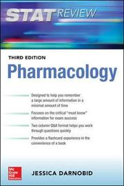 Deja Review: Pharmacology, Third Edition by Jessica Gleason
