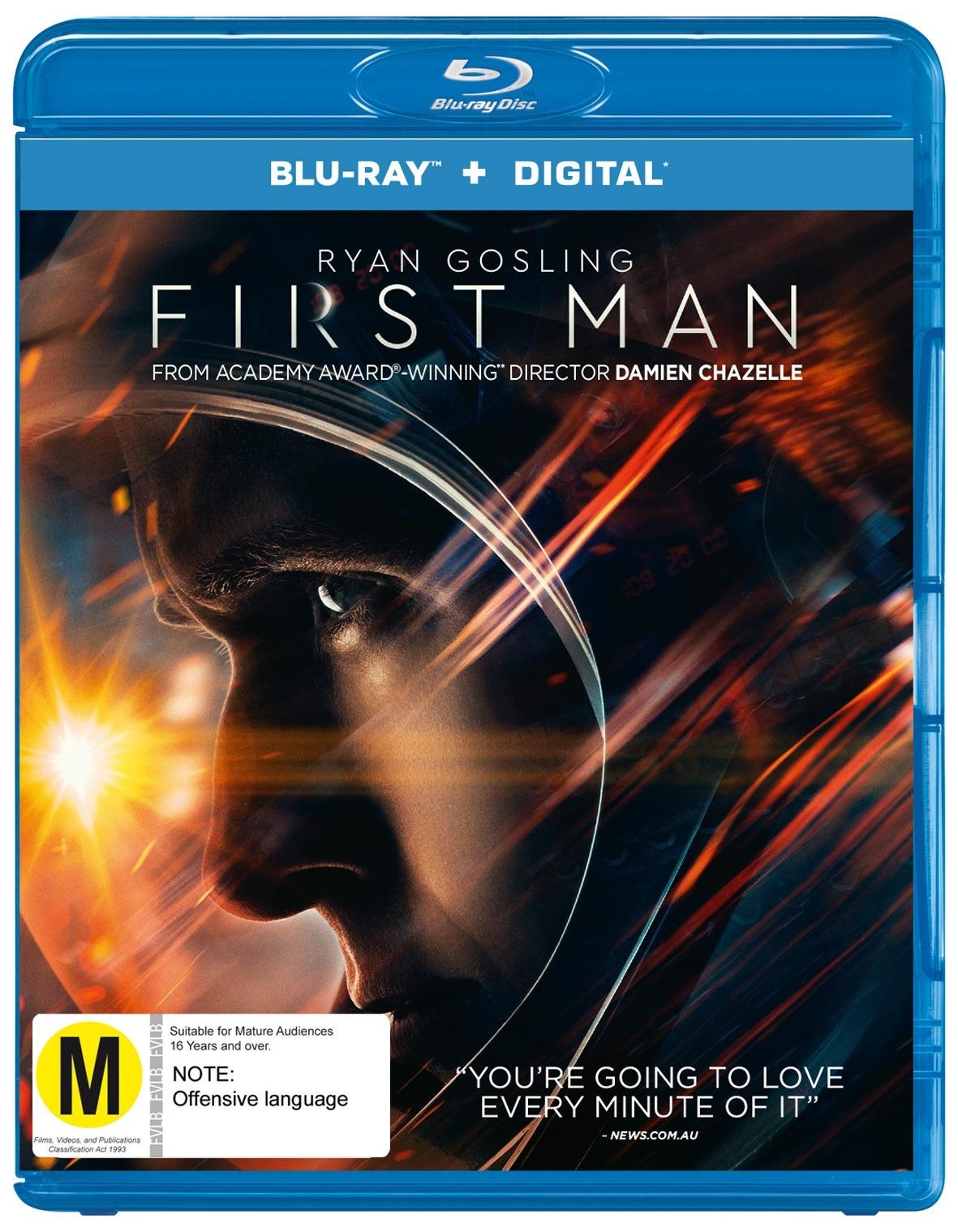 First Man on Blu-ray image