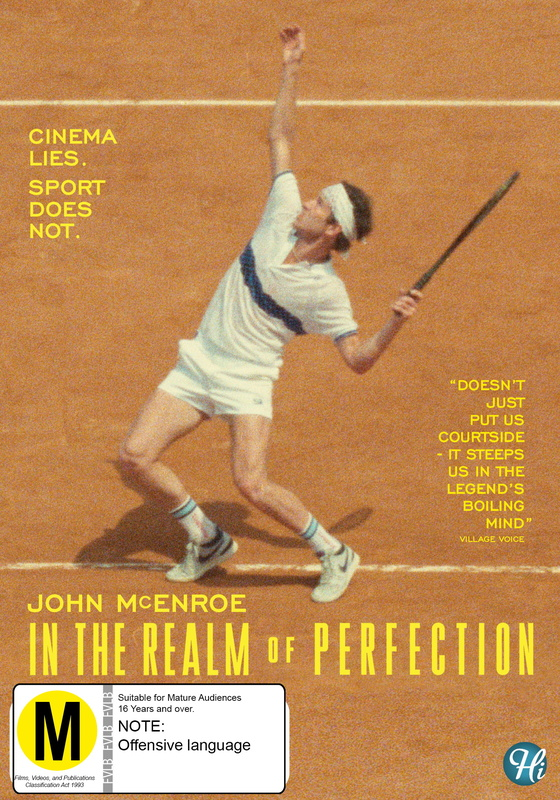 John Mcenroe: In The Realm of Perfection on DVD