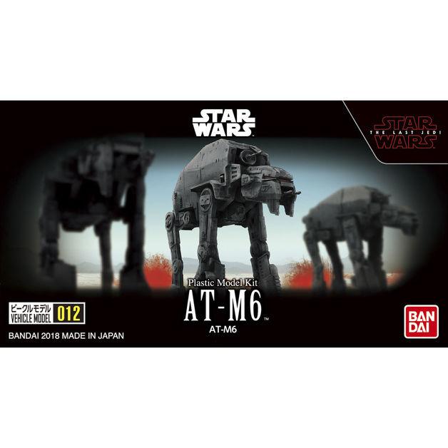 Star Wars Vehicle Model 12: AT-M6 - Model Kit