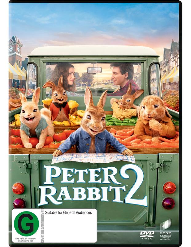 Peter Rabbit 2 on DVD