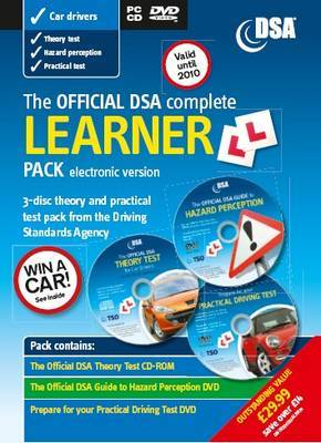 The Official DSA Complete Learner Driver Pack: 2009/10 by Driving Standards Agency (Great Britain) image