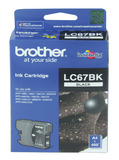 Brother Ink Cartridge LC67BK (Black)