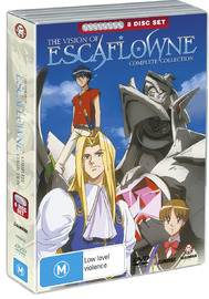Escaflowne Collection (8 Disc Fatpack) on DVD image