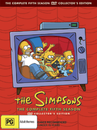 The Simpsons - The Complete Fifth Season on DVD