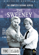 Sweeney, The - Complete Series 2 (4 Disc Slimline Set) on DVD