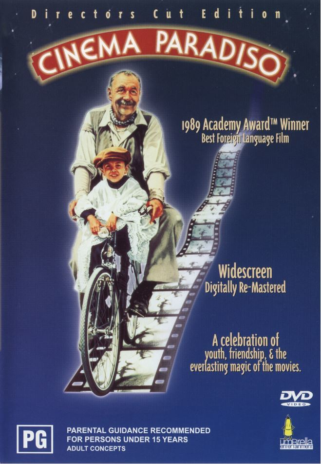 Cinema Paradiso on DVD image