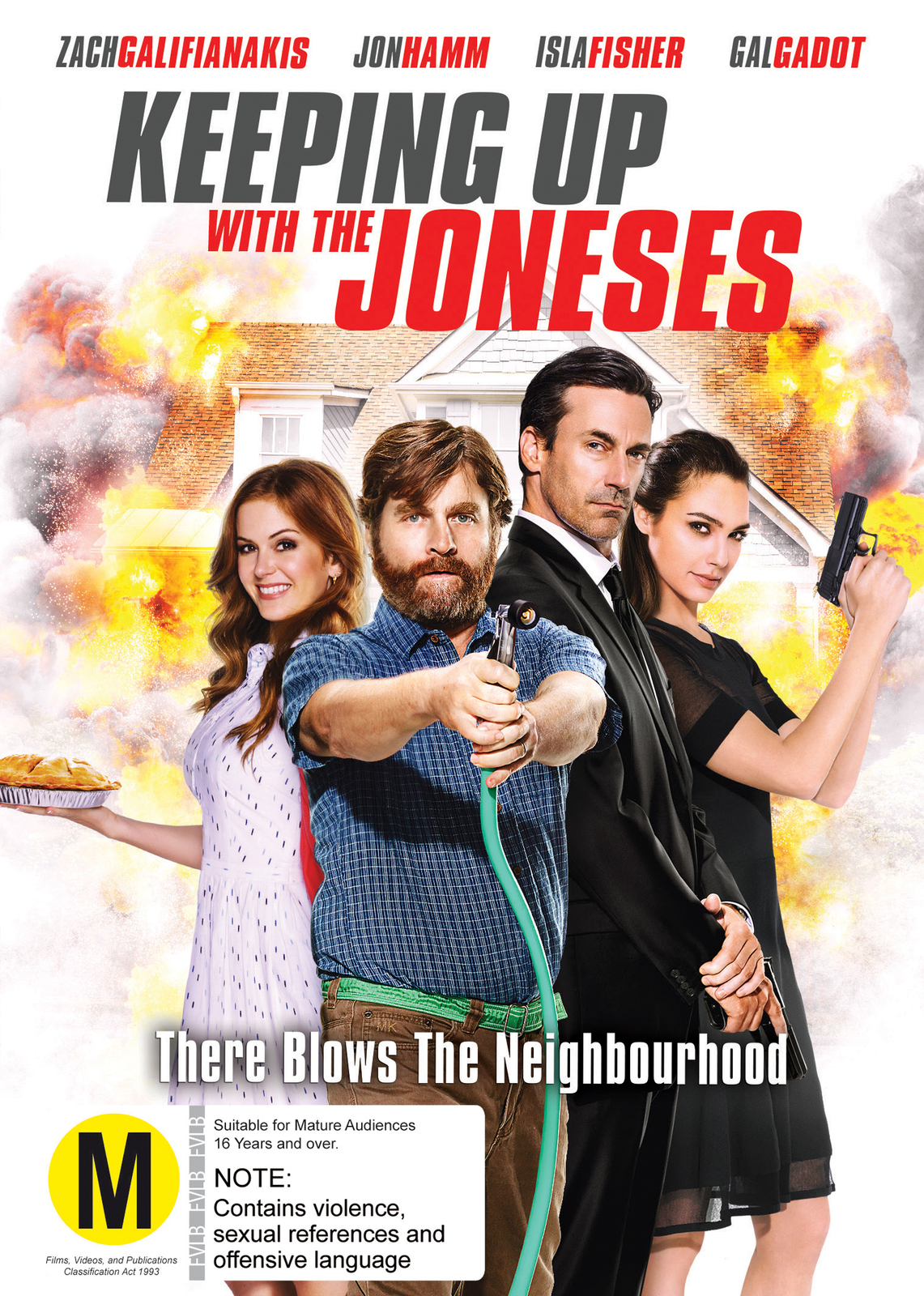 Keeping Up With The Joneses on DVD image