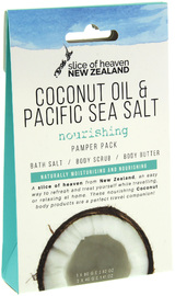 Slice of Heaven Coconut Oil & Pacific Sea Salt Pamper Pack