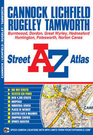 Cannock Street Atlas by Geographers A-Z Map Company