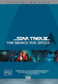 Star Trek 03 - The Search For Spock - Special Edition (2 Disc) on DVD image