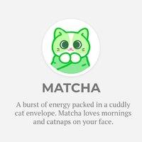 "Purritos: Matcha - 7"" Plush image"
