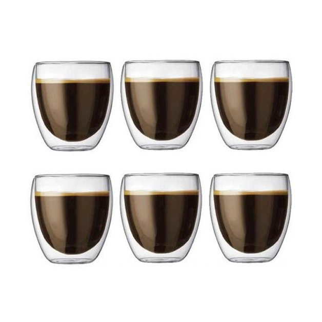 Bodum: Pavina Double Wall Thermo-Glasses (250ml) - Box of 6