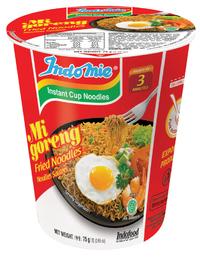 Indomie Cup Noodles - Mi Goreng 75g (12 Pack)