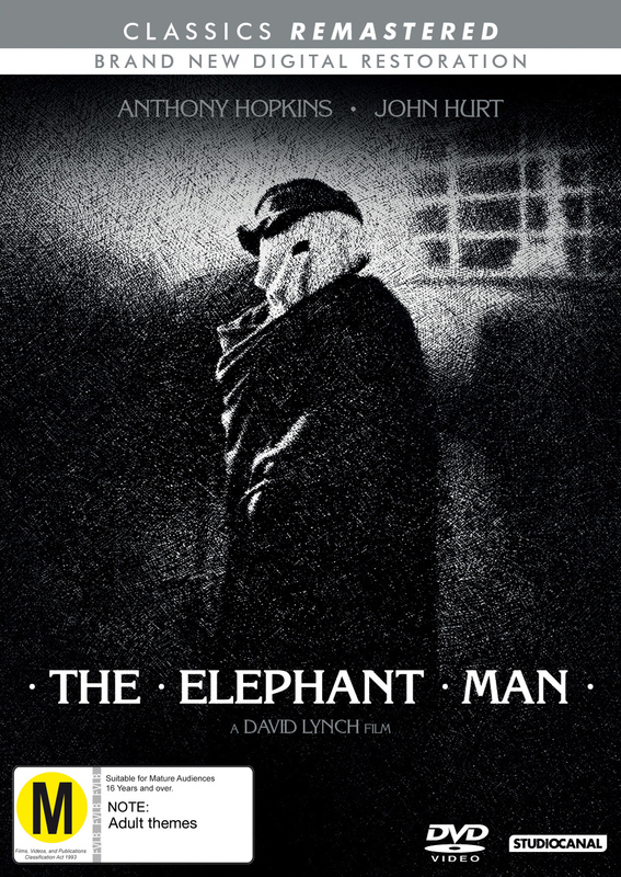 Classics Remastered: The Elephant Man (1980) on DVD