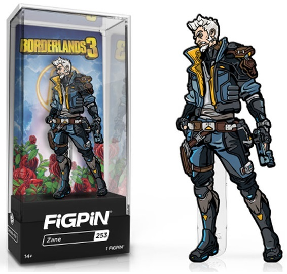 Borderlands 3: Zane (#253) - Collectors FiGPiN