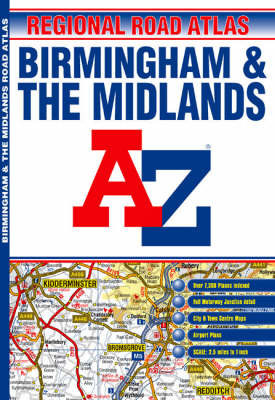 A-Z Birmingham and the Midlands by Great Britain