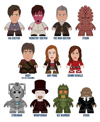 Doctor Who Titans 11th Doctor Series 2 Vinyl Mini Figure (Blind Box) image