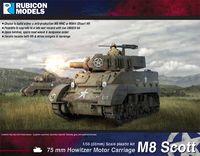 Rubicon 1/56 US M8 Scott/M5A1 Stuart (Mid Production)