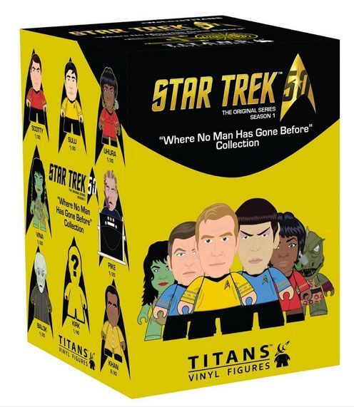 "Star Trek - ""Where No Man Has Gone Before"" Titans Mini-Figure (Blind Box) image"