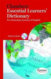 Chambers Essential Learners' Dictionary by . Chambers